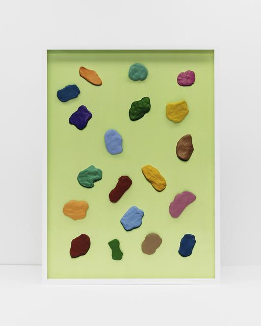 , 'Handmade: Primal forms (green),' 2017, Rena Bransten Gallery