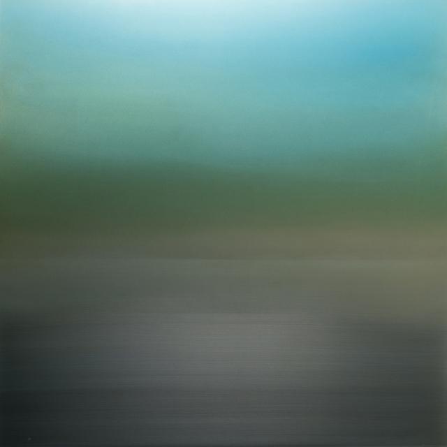 , 'Fog Green Blue,' 2018, Sundaram Tagore Gallery