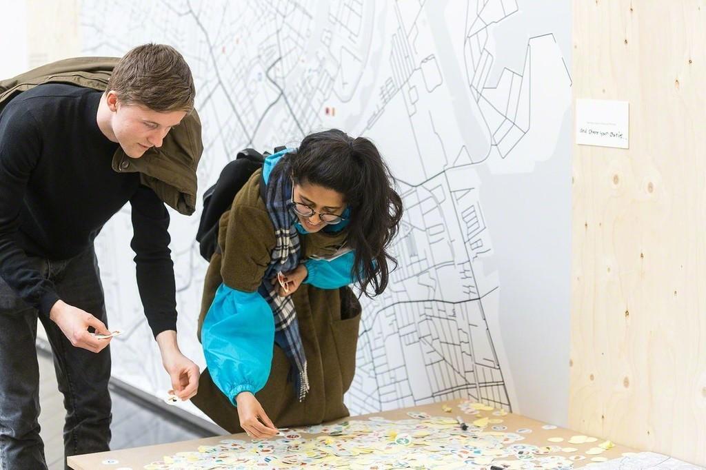 """SuperSub - on collectivism"" at Den Frie Centre of Contemporary Art, Copenhagen (2016). Photo: Jacob Crawfurd"