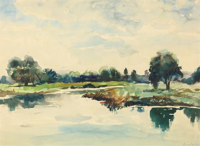 , 'Concord River,' 1934, Heather James Fine Art