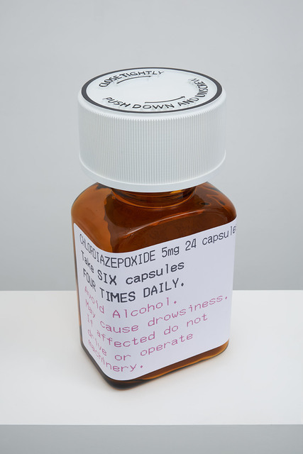 , 'Chlordiazepoxide 5mg 24 capsules,' 2014, Paul Stolper Gallery