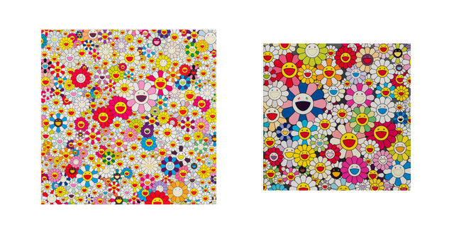 Takashi Murakami, 'Such Cute Flowers and Flowers in Heaven', 2010, Heritage Auctions