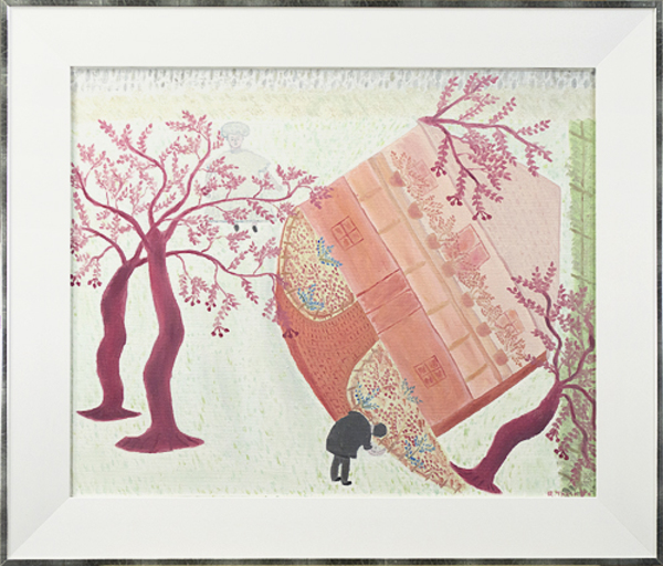 , 'American House & Florals,' 1996, David Barnett Gallery
