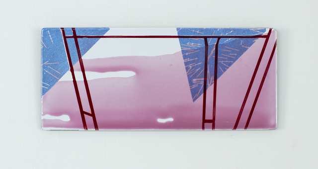 Alexandra Severinsson, 'Triangular', 2018, Painting, Enamel on steel., Alfa Gallery