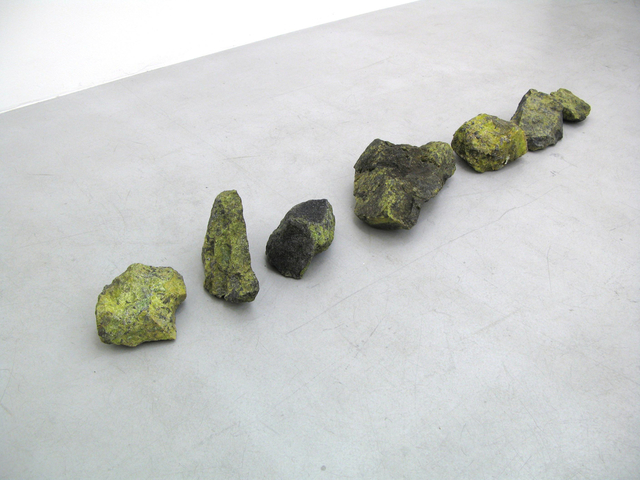 Helen Mirra, 'Untitled, group of seven rocks', 2007, Galerie Nordenhake