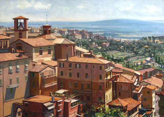 , 'Perugia,' 2019, William Baczek Fine Arts