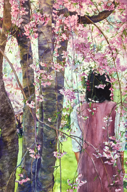 , 'Cloaked in Blossoms,' 2018, 440 Gallery