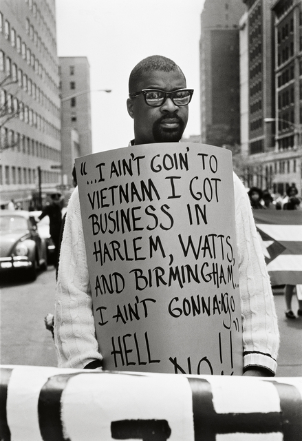 ", '""I Ain't Goin...,"" New York,' 1968, Fahey/Klein Gallery"