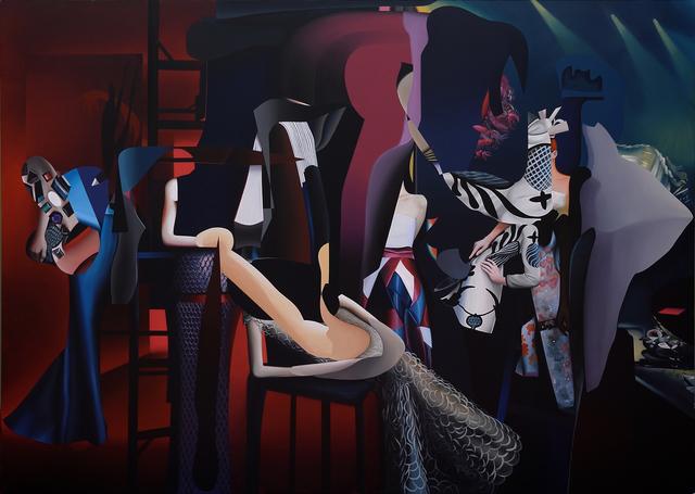 , 'La vanidad del pensamiento,' 2016, Diablo Rosso