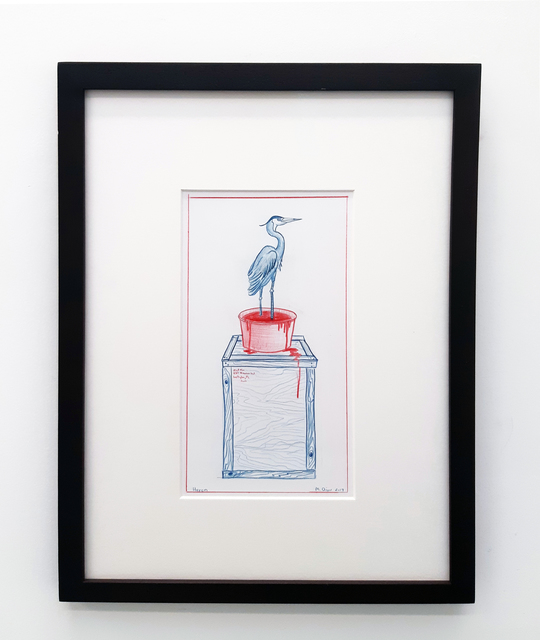 , 'Heron,' 2017, In Situ - Fabienne Leclerc