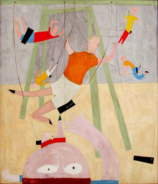 , 'Kids on Swings,' 1946, Betty Cuningham