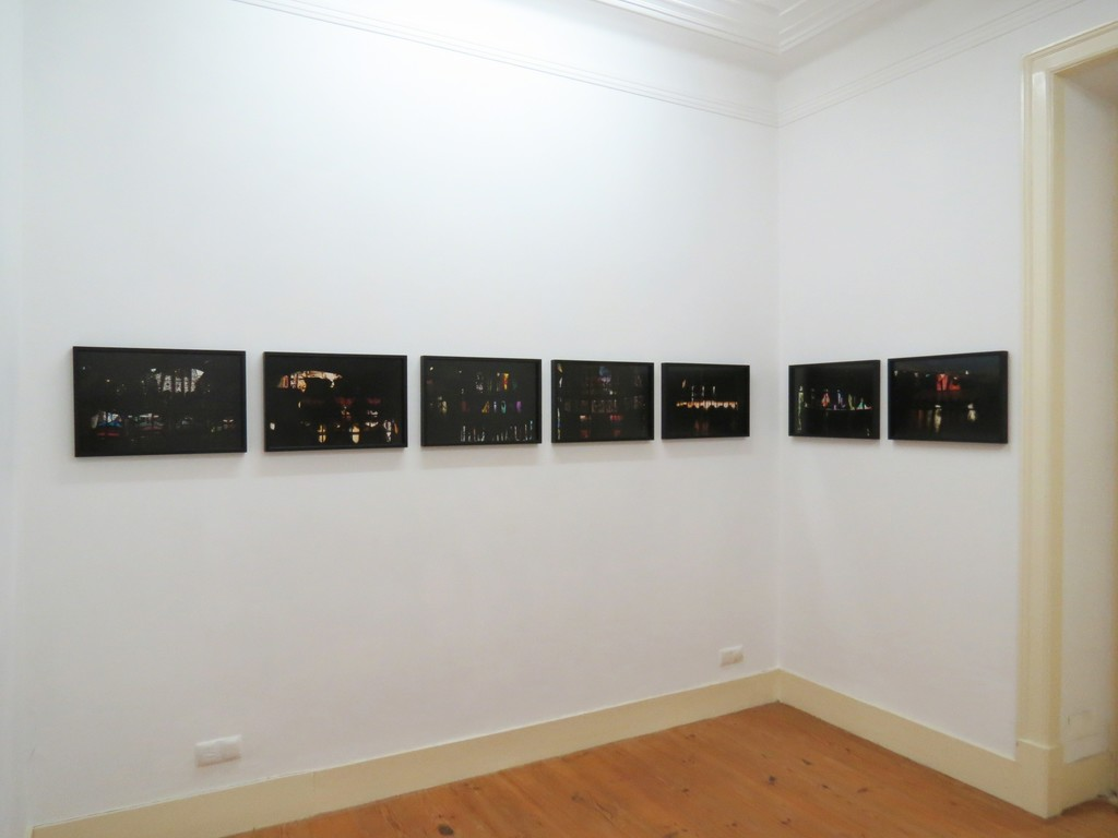 "Exhibition view of Manuela Marques' exhibition ""Backstage"", 2013"