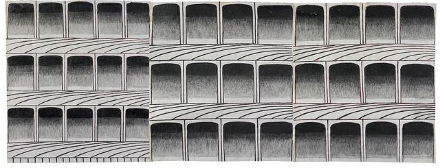 , 'Untitled (Arches),' ca. 1960, Ricco/Maresca Gallery