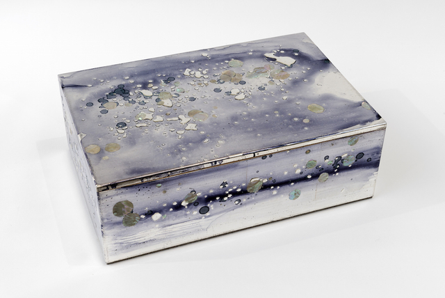 , 'Silver Leaf and Mother of Pearl Box,' 2016, PDX CONTEMPORARY ART