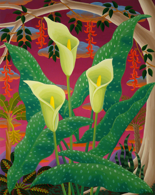 , 'Spotted Calla Lily,' 2016, Morgan Lehman Gallery