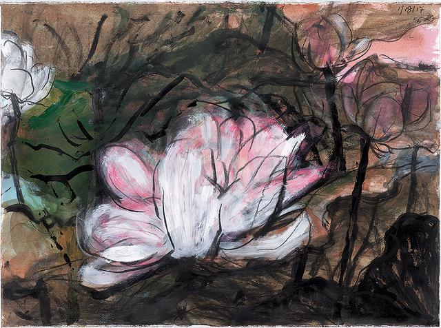 , 'Lotus Diary IV,' 2017, Galerie du Monde