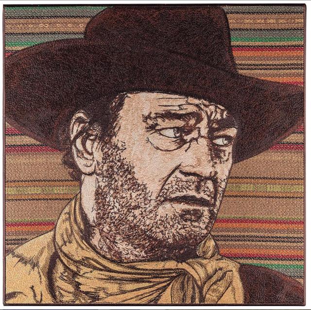 Stephen Wilson, 'John Wayne', 2017, New Gallery of Modern Art