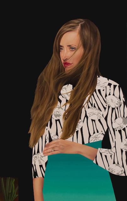 , 'Scarlet,' 2019, Julie Nester Gallery