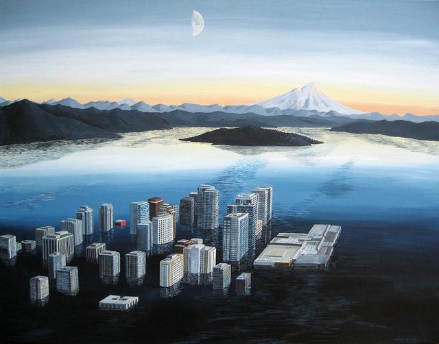 , 'The Glass Archipelago,' 2018, Linda Hodges Gallery