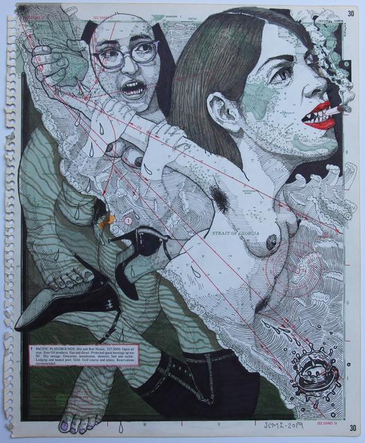JUAN CARLOS MACIAS, 'MAR AMARELO ', 2019, Galería Quetzalli