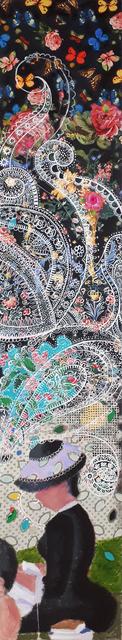 , 'Wallpaper J, Flowers on the Grande Jatte,' 2017, Newzones