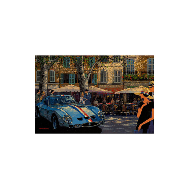 , 'GTO in Provence   Automotive   Car,' 2010, Whyte Fine Art