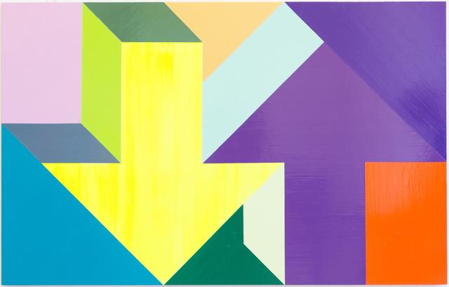 , 'Arrow Painting,' 2015, Kavi Gupta