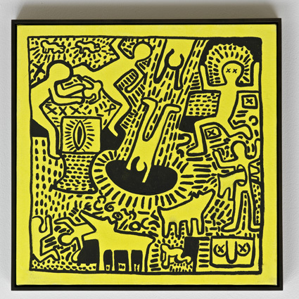 , 'Haring Untitled ,' 1986, Anthony Reynolds Gallery