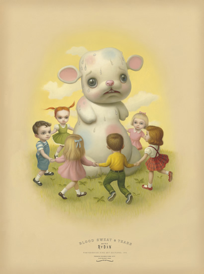 Mark Ryden, 'Sweat', ca. 2004, Print, Giclee on Archival Cotton Rag Paper with Deckled Edges, Dorothy Circus Gallery