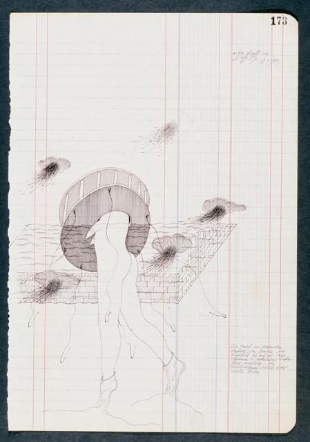 , 'Tageszeichnungen,' 1972-1973, Galerie Elisabeth & Klaus Thoman