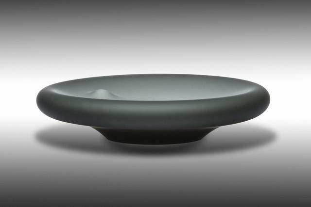 , 'Black Plate,' 2015, Galerie Kuzebauch