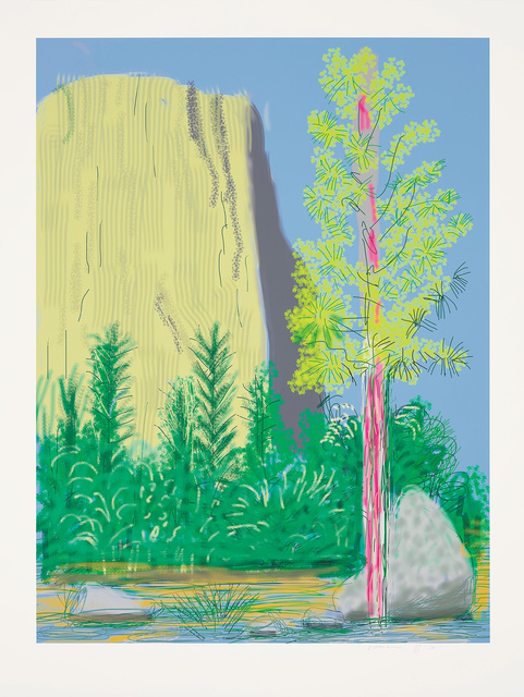 David Hockney, 'Untitled No. 22, from The Yosemite Suite', 2010, Phillips