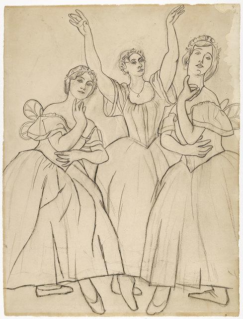 Pablo Picasso, 'Trois danseuses', Musée Picasso Paris