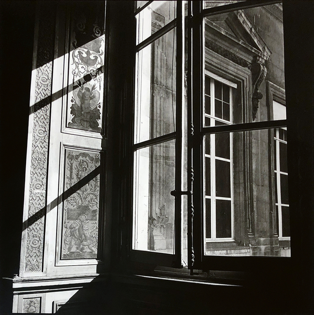 Bruce Cratsley, 'Louvre Window, Paris', 1980, Photography, Gelatin silver print, ClampArt
