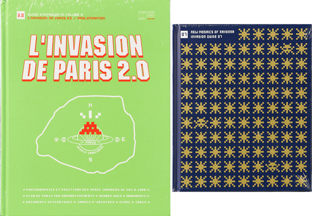 Invader, 'L'Invasion de Paris 2.0 / Proliferation and New Mosaics of Ravenna', Rago