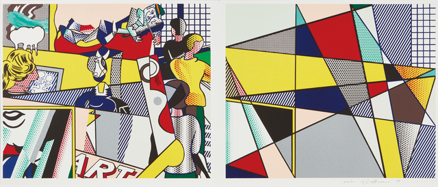 Roy Lichtenstein, 'Tel Aviv Museum Print  ', 1989, Fine Art Mia