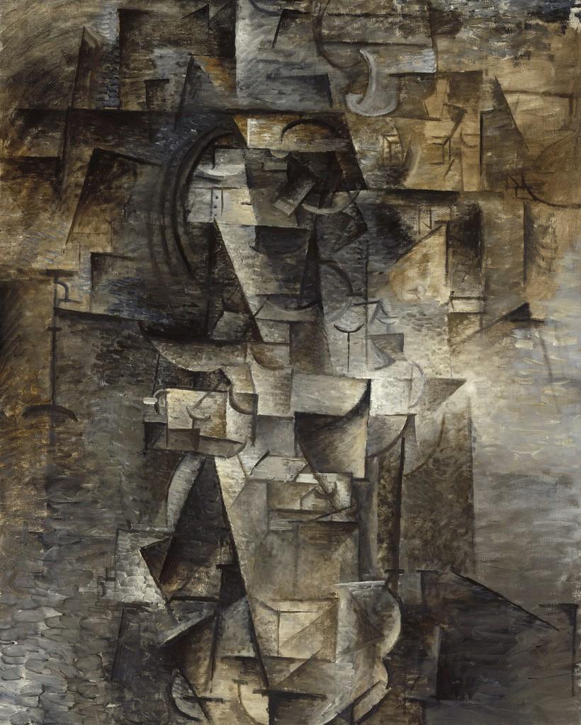 pablo picasso portrait of a woman 1910 artsy