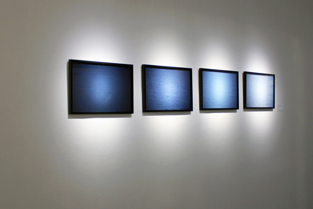 , 'Untitled (Blue Water),' 2014, Hong Kong Arts Centre
