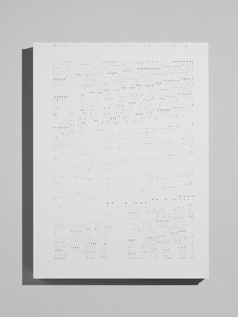 , 'Pagina strappata,' 2014, Piero Atchugarry Gallery
