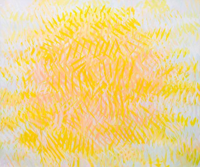 Samia Halaby, 'Sun', 2015, Ayyam Gallery