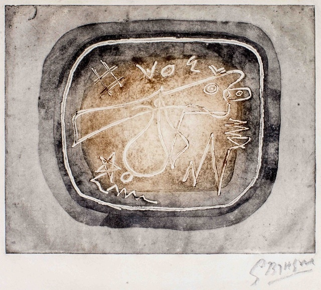, 'Théogonie I,' 1949, Wallector
