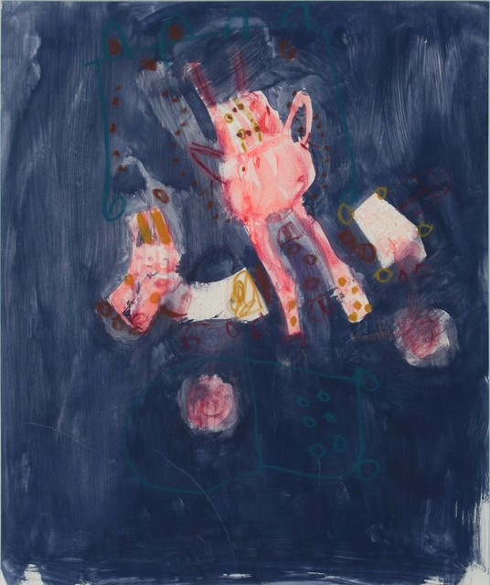 , 'Sin título (Blue composition),' , Oscar Roman