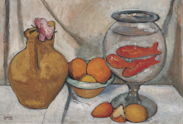 , 'Stilleben mit Goldfischglas (Still Life with Goldfish Bowl) ,' May/June 1906, Louisiana Museum of Modern Art