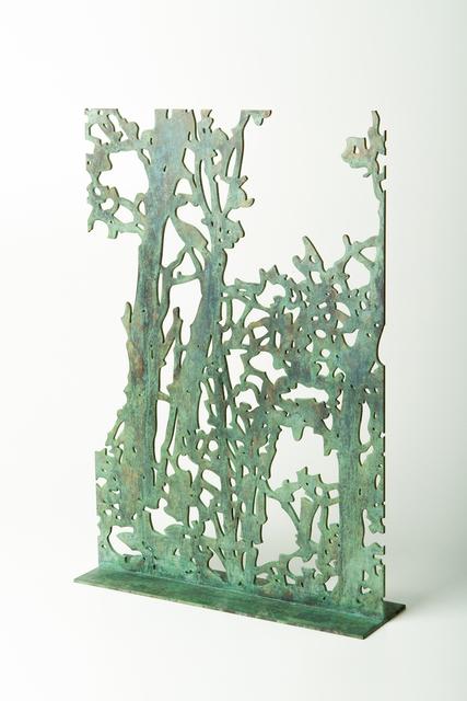 , 'Trees (detail),' 2014, Heather James Fine Art