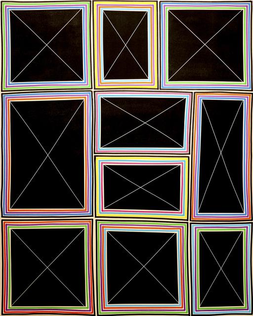 Bradley Harms, 'Stacked Simple Exes (Multi-Triple Line)', 2015, Newzones