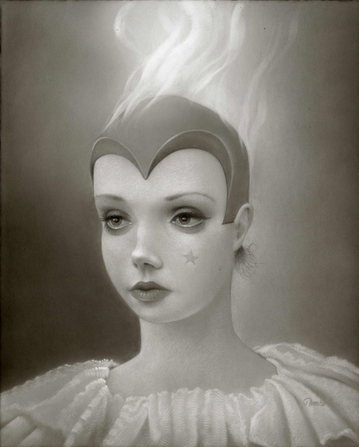 Travis Louie, 'Martha Starr: Victorian Superhero', William Baczek Fine Arts