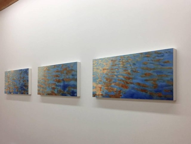 , 'Basterdorff Gold Triptych,' 2016, Andra Norris Gallery