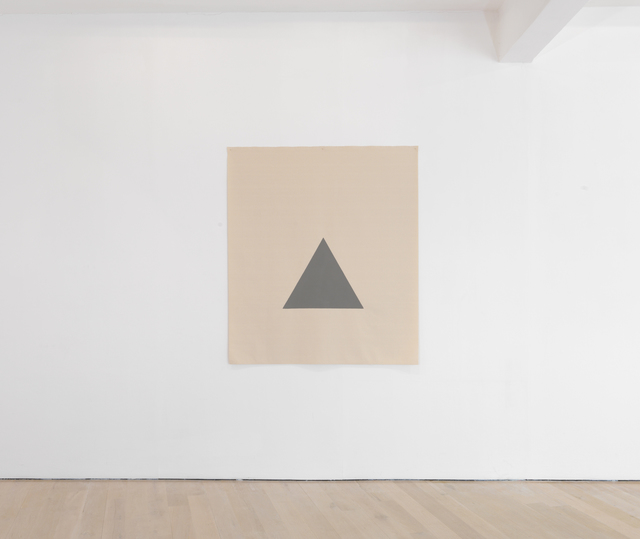 , 'Hanging Canvas Isometric Triangle ,' 2017, Annely Juda Fine Art