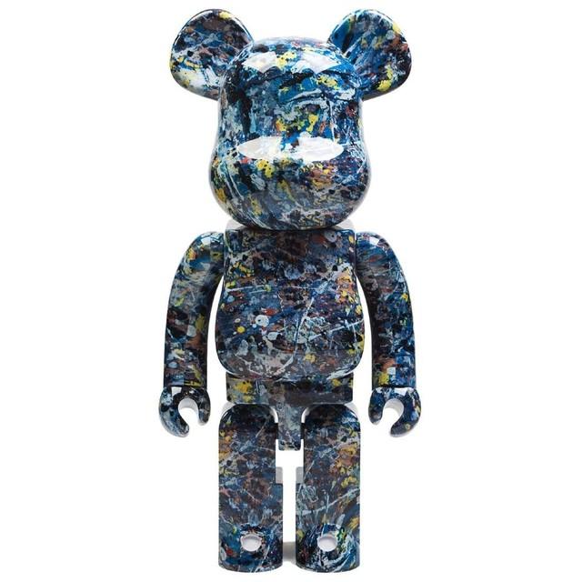 BE@RBRICK, 'Jackson Pollock 1000%', 2018, Sculpture, Painted & articulated plastic, Samhart Gallery