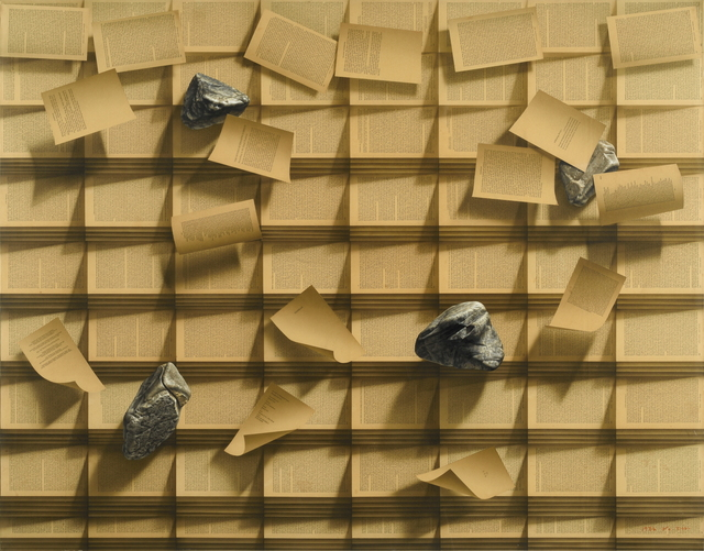 , 'Stone Book,' 1986, Gana Art